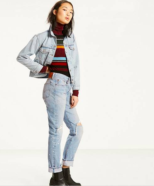 Pictured: Levi's 501 Jeans for Women