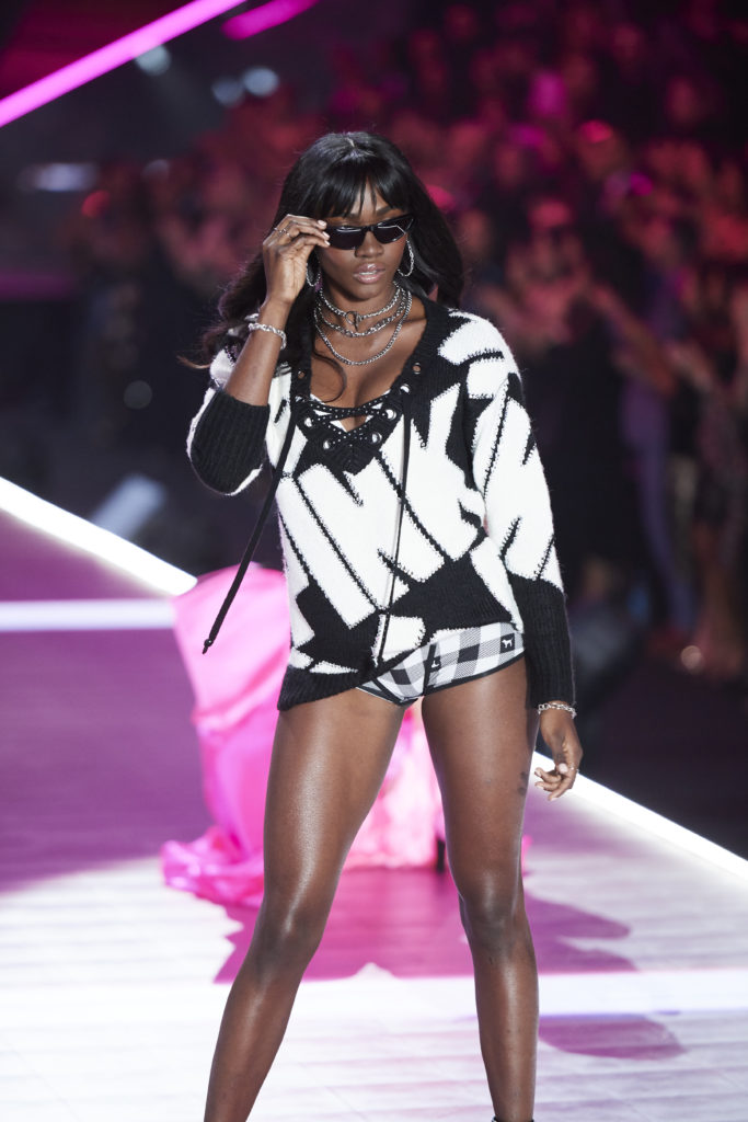 All Black Models who appeared on the Victoria's Secret