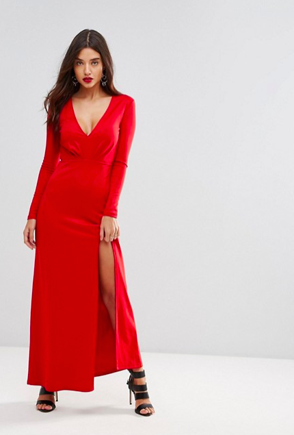 Pictured: Ivyrevel Maxi Dress With Slit Front from ASOS